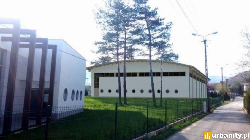 Miniaturka Hala sportowa przy gimnazjum