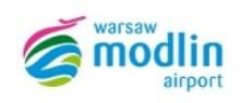 Logo Port Lotniczy Modlin
