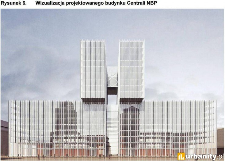 7012e7bf6111c3 Nowa siedziba Narodowego Banku Polskiego Warszawa Powstańców Warszawy 4