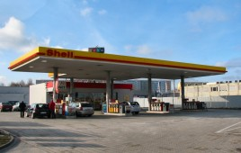 Stacja paliw Shell