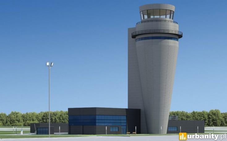 Miniaturka Wieża kontroli lotów w Pyrzowicach