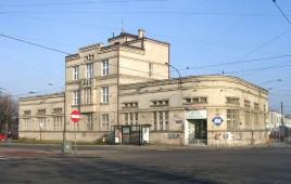Budynek przy Zajezdni