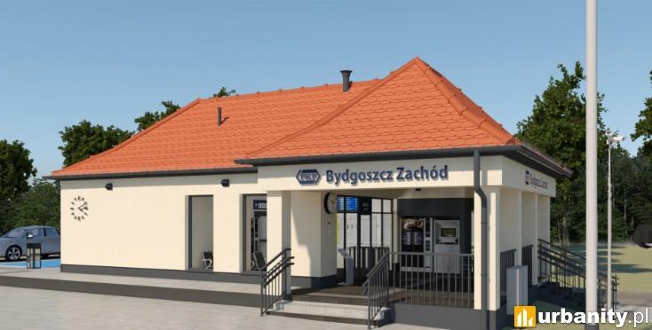 Miniaturka Dworzec kolejowy Bydgoszcz Zachód