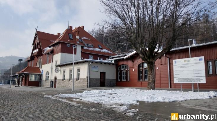 Miniaturka Dworzec Szklarska Poręba Górna