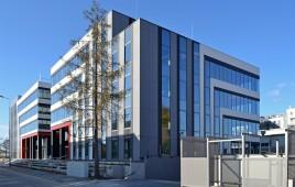 Dwa budynki biurowe