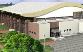 Sala sportowa przy Gimnazjum Nr 1