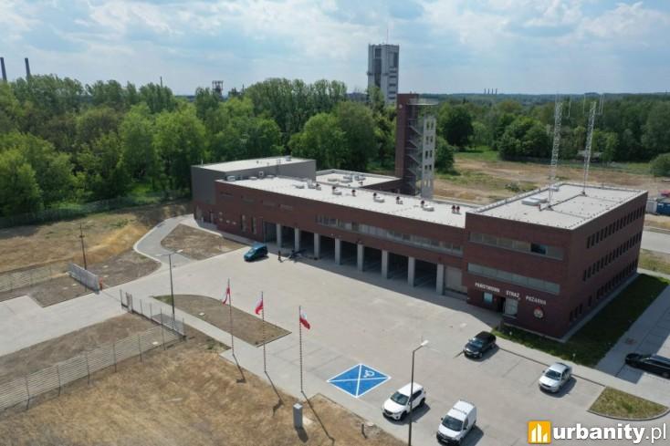 Miniaturka Strażnica Komendy Miejskiej Państwowej Straży Pożarnej