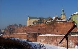 Mury obronne na Starówce