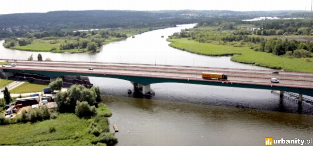 Miniaturka Most Pionierów Miasta Szczecina