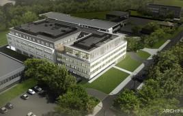 Siedziba laboratorium centralnego Diagnostyki