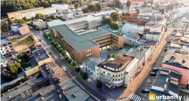 Miniaturka Sąd Rejonowy i Centrum Biznesowe