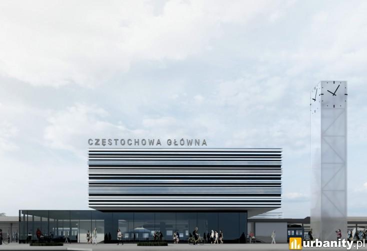 Miniaturka Dworzec Częstochowa Główna