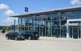 Salon Samochodowy Mercedes