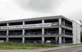 Parking P+R Metro Wilanowska
