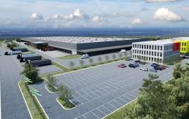 Centrum magazynowo-dystrybucyjne Intermarche w Swadzimiu