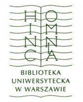 Logo Biblioteka Uniwersytetu Warszawskiego BUW