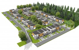 Miniaturka Osiedle domów jednorodzinnych