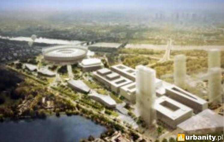 Miniaturka Nowa Zabudowa Okolic Stadionu Narodowego