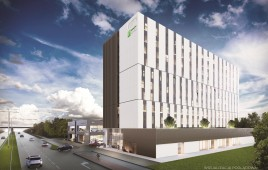 Holiday Inn Express i Staybridge Suites
