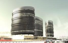 Zespół budynków biurowych Skanska