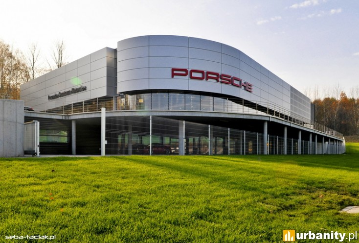 Miniaturka Porsche Centrum