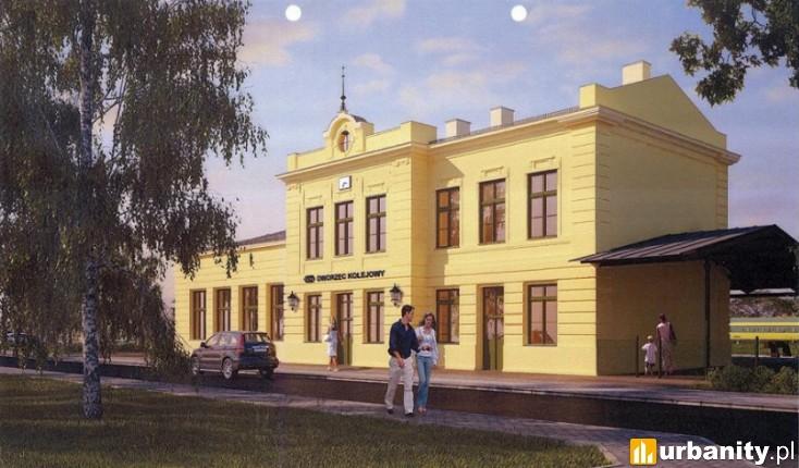 Miniaturka Dworzec Wieliczka Park