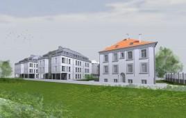 Dwa budynki mieszkalno-usługowe