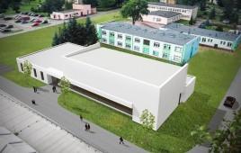 Sala sportowa przy Ośrodku Szkolno-Wychowawczym