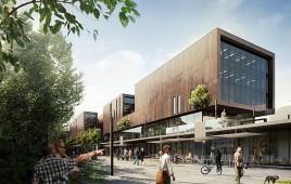 Nowe Centrum Sopotu - część komercyjna
