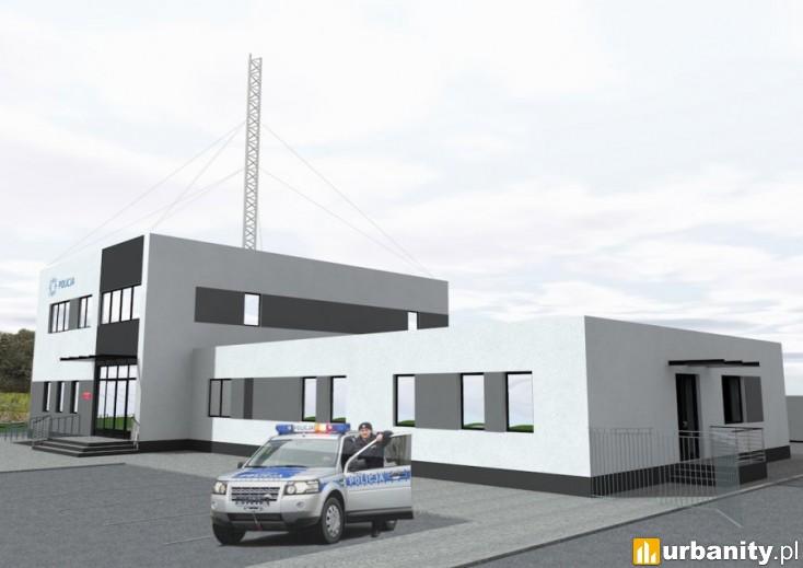 Miniaturka Komisariat Policji