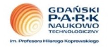 Logo Gdański Park Naukowo-Technologiczny II