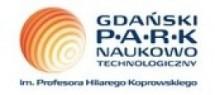 Logo Gdański Park Naukowo-Technologiczny I