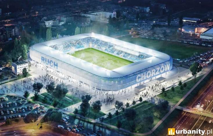 Miniaturka Nowy stadion Ruchu Chorzów