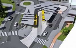 Centrum przesiadkowe Katowice-Ligota