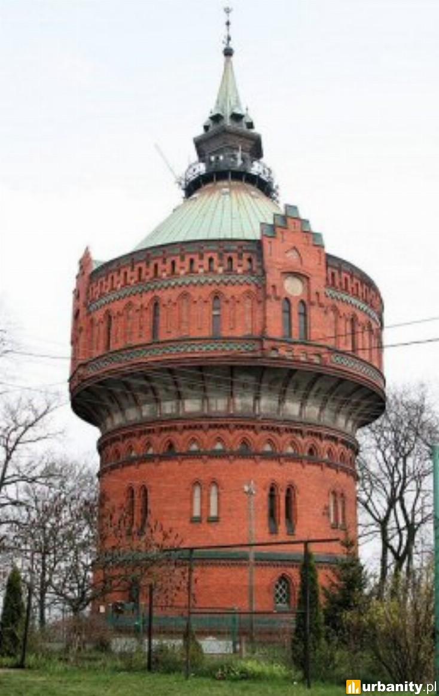 Miniaturka Wieża Ciśnień na Wzgórzu Dąbrowskiego