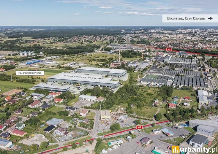 Miniaturka Centrum logistyczne Panattoni Białystok