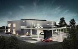 Salon sprzedaży aut marki Jaguar