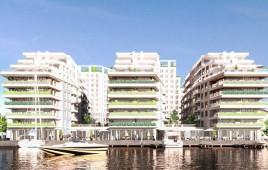 Apartamentowce na Kępie Parnickiej