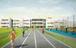 Szkoła podstawowa z przedszkolem i halą sportową