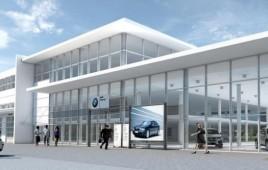 Salon samochodowy BMW