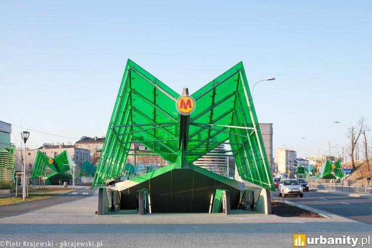 Miniaturka Stacja metra C-14 Stadion Narodowy