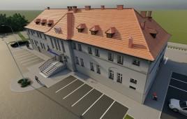 Dworzec kolejowy stacja Olesno Śląskie