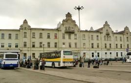Budynek główny Dworca Łódź Fabryczna