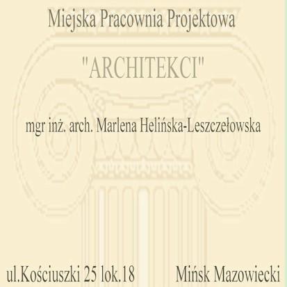 MPP Architekci Marlena Helińska-Leszczełowska