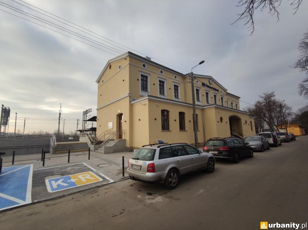 Otwarcie przebudowanego dworca w Malczycach