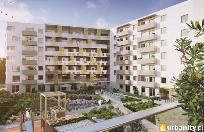 Projekt osiedla Nowy Gaj we Wrocławiu