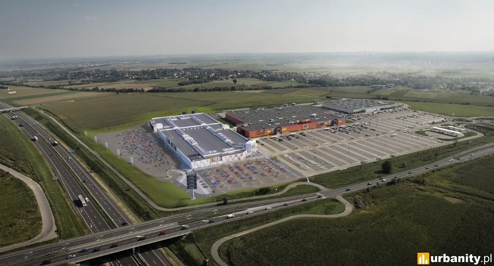 Silesia Outlet połączy się centrum handlowym Auchan Gliwice