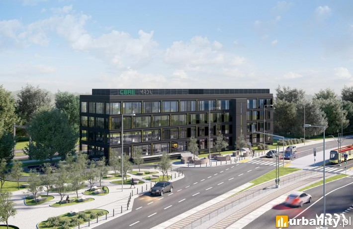 Projekt 4-kondygnacyjnego biurowca Słomińskiego Art Office
