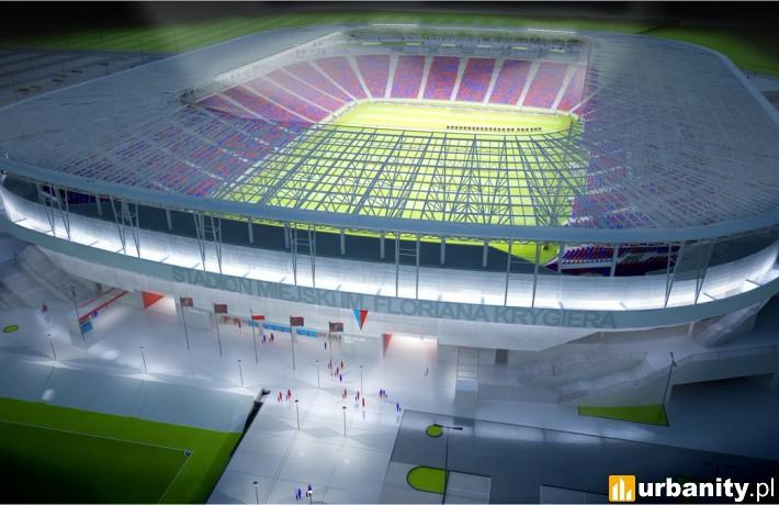 Tak prezentował się będzie nowy stadion Pogoni Szczecin