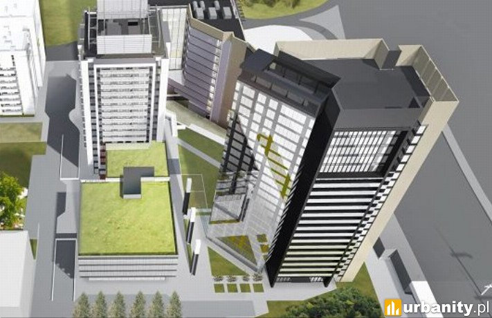 Projekt 73-metrowego apartamentowca przy Towarowej